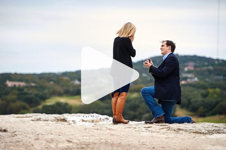 Alex and Caroline: 360 Overlook Surprise Proposal