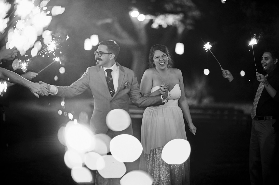 Sparkler Exit, Wedding, Stonehouse Villas, Dripping Springs