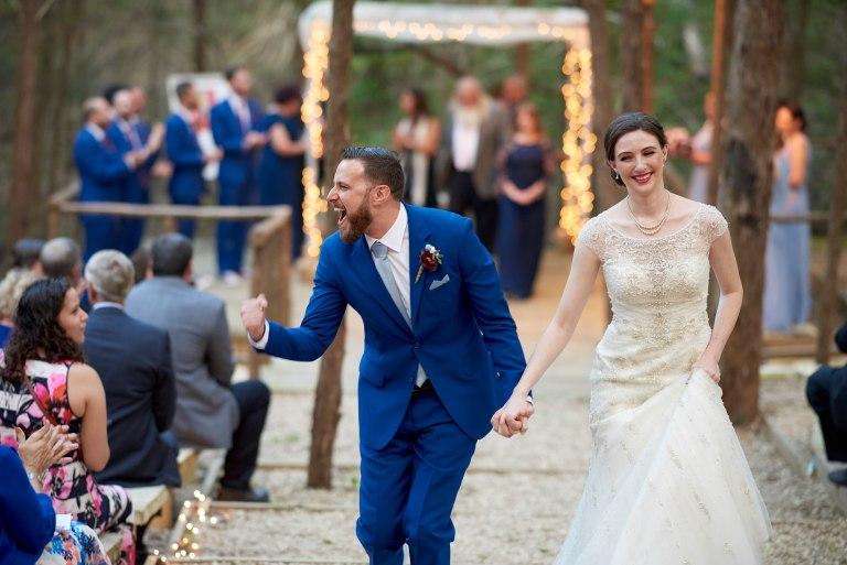 Outdoor Wedding - Hallie and Jonathan - Green Family Camp - Blue Bonnet Wedding - 045