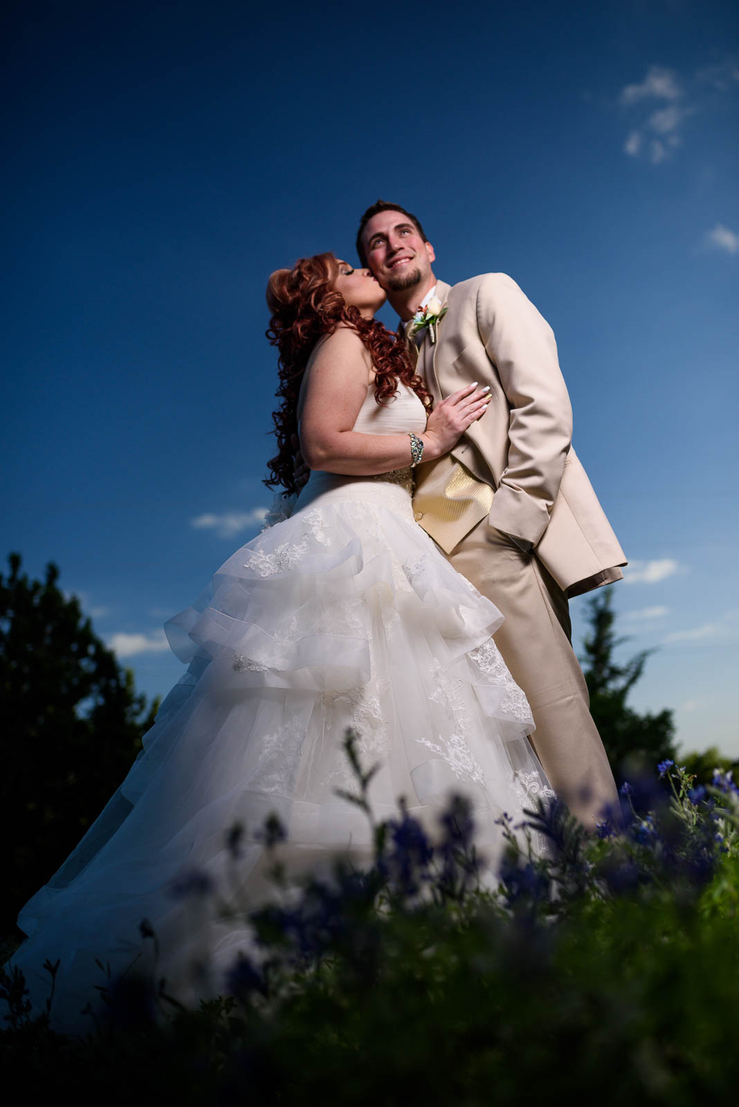 Canyon Lake Wedding - Country Wedding - Classic Car Wedding - New Braunfels Wedding - Sunset Wedding Photos - Shay and Jason