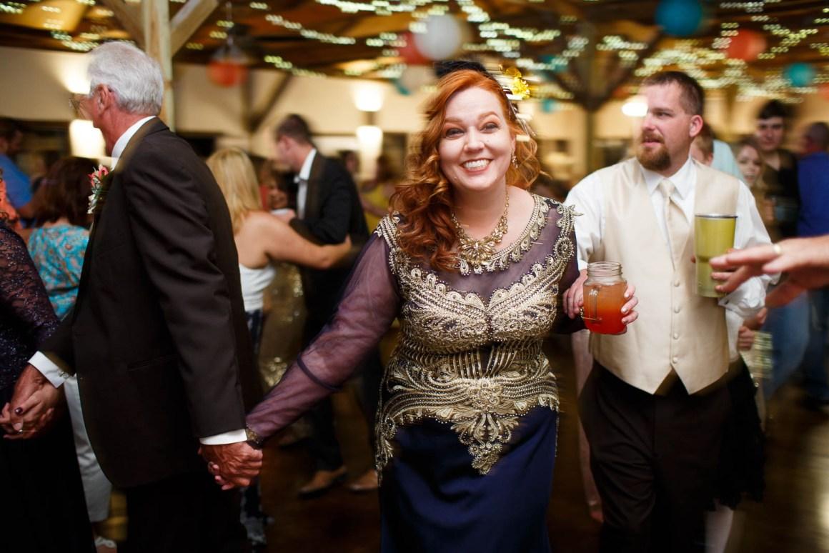 Canyon Lake Wedding - Country Wedding - Classic Car Wedding - New Braunfels Wedding - Wedding Reception - Dancing - Shay and Jason
