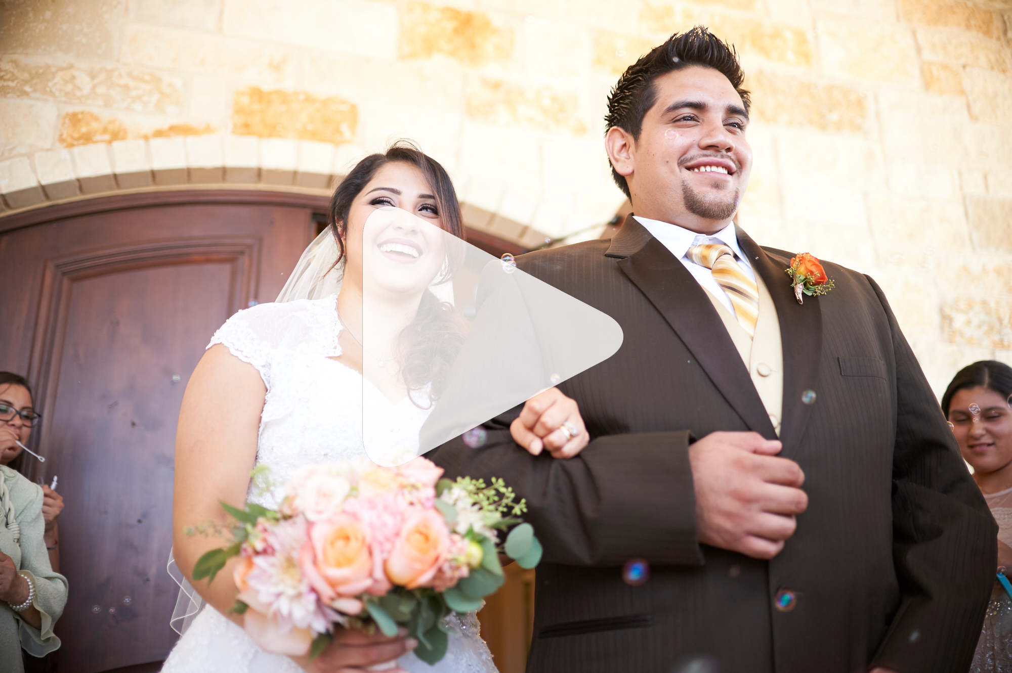 Nancy and Jose at Tenroc in Salado - Austin Wedding Videography