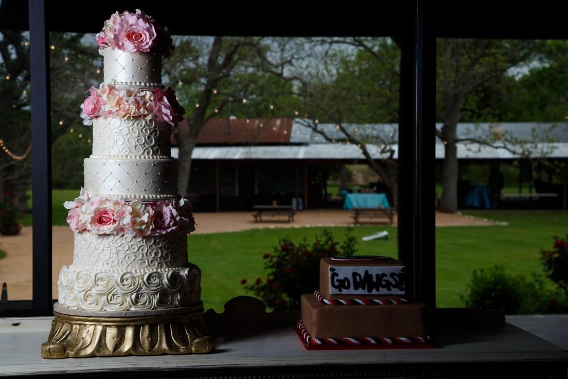 Featured Wedding Cakes - DIY Wedding Cakes - Cake Highlights - Austin Wedding Photographers - Matt and Allison Wedding - DIY wedding Cake