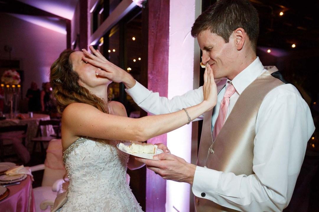 Hill Country Wedding - Pecan Springs Ranch - Wedding Cake - Austin Wedding Photographer - Matt and Allison
