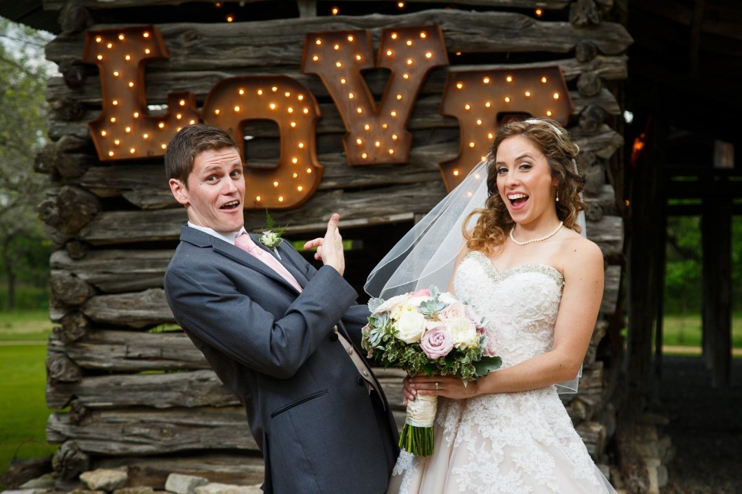 Hill Country Wedding - Pecan Springs Ranch Wedding Wedding Formals - funny wedding portraits- Austin Wedding Photographer - Matt and Allison