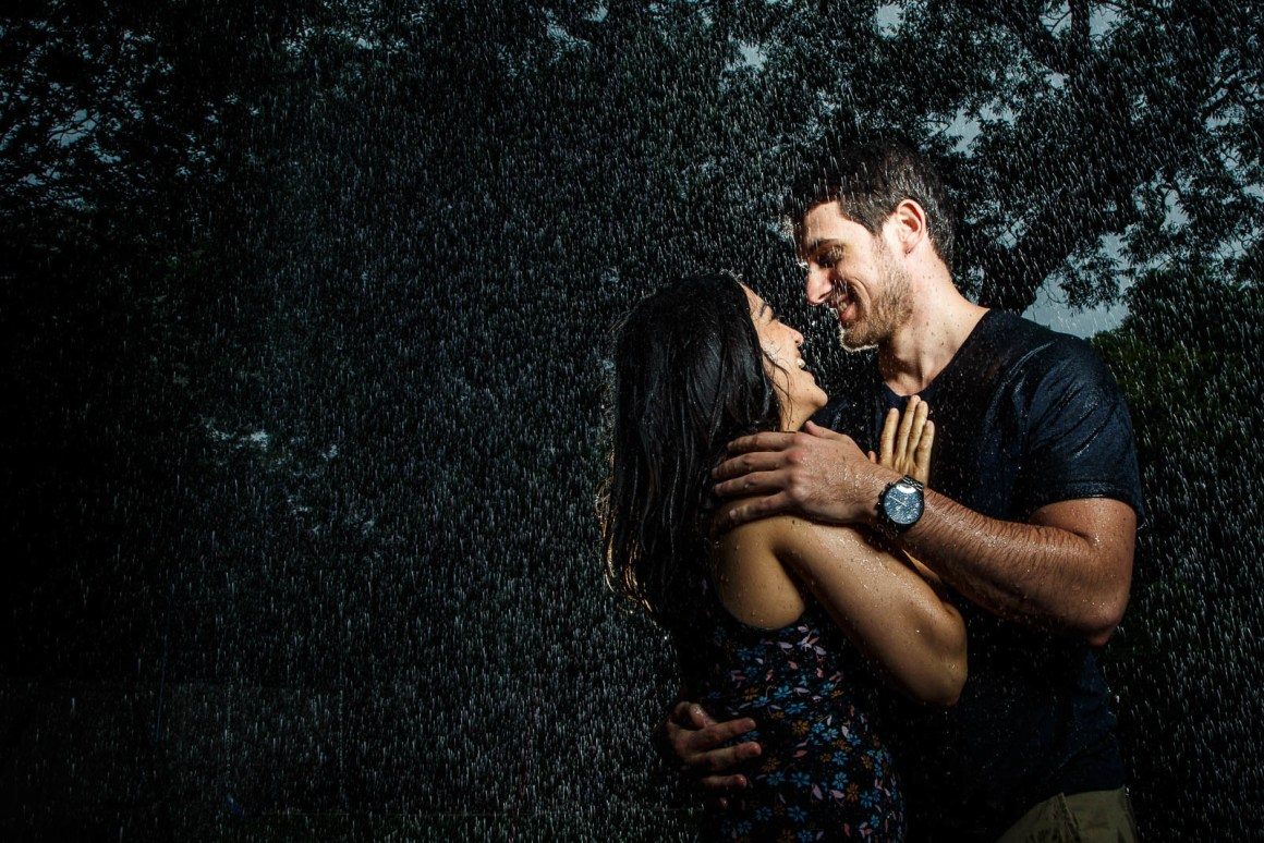 Chris and Samantha Engagement - soaked engagement - epic engagement photos - austin wedding photographers - creative engagement photo ideas
