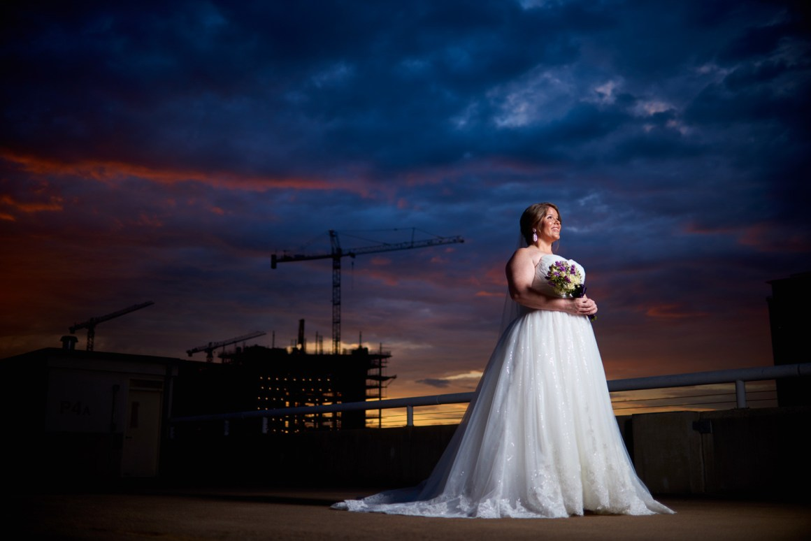 Roxie Bridal Session - Downtown Austin Texas - Austin Skyline- Epic Austin Wedding Photographers - Golden Hour Bridal Shoot
