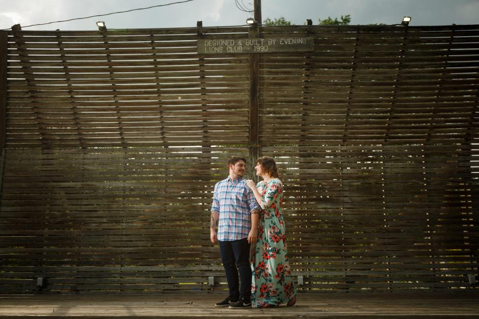 Austin and Meghan Landa Park Engagement Photos