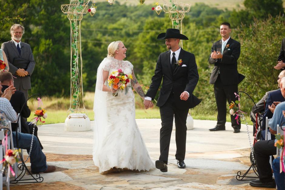 Wes and Cheyenne Texas Style TerrAdorna Wedding