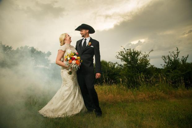 Wes and Cheyenne Wedding Portraits at TerrAdorna Wedding