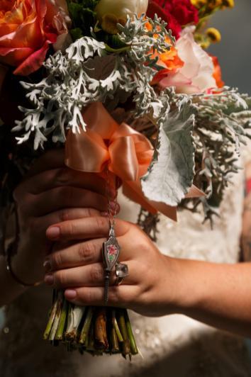 Wedding Boquette Pendant