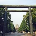 靖国神社の初詣参拝