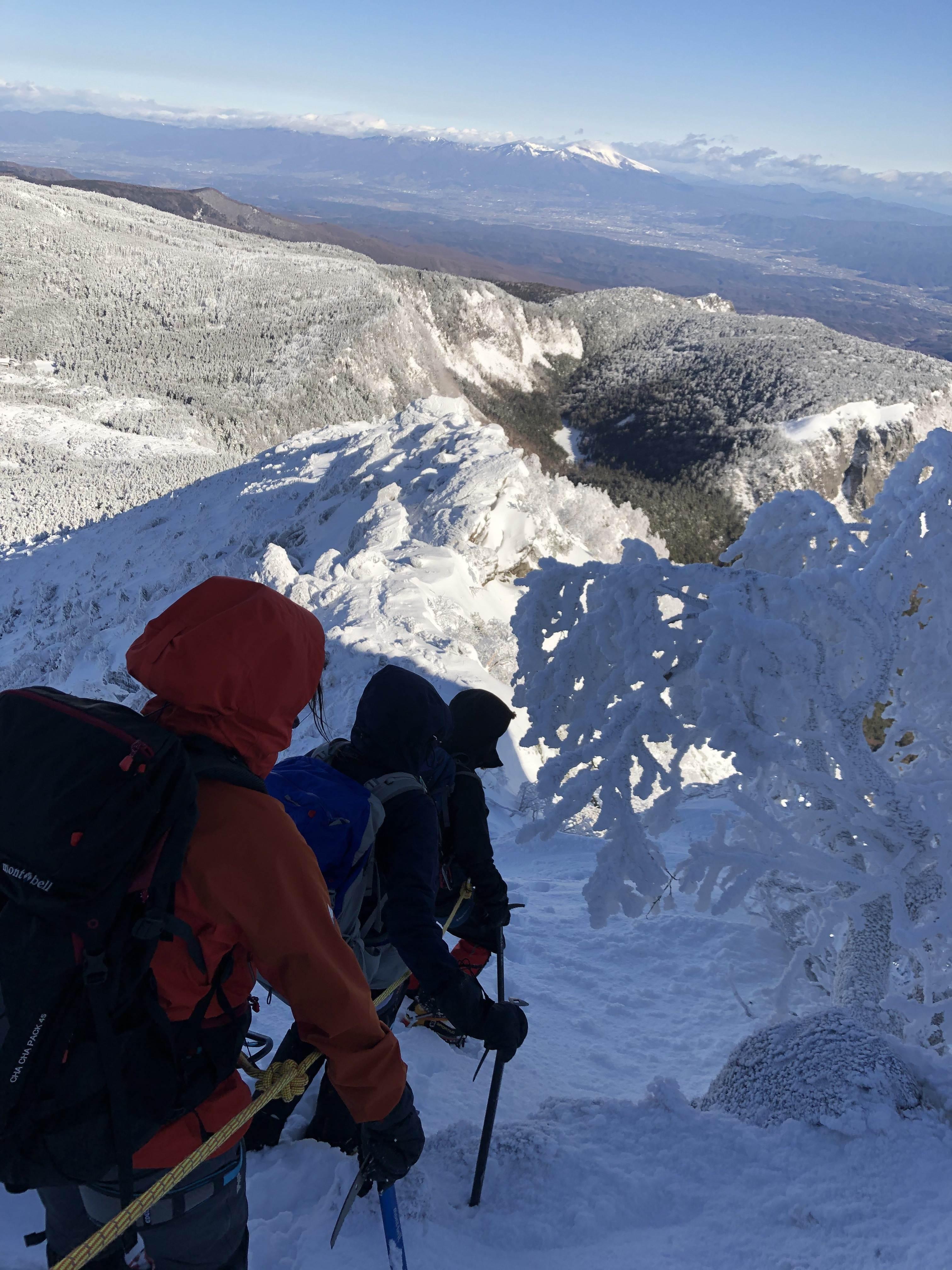 『新春第一弾!雪の天狗岳』 – 安曇野・登山基地