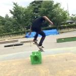 【スケートHOW TO】B/S180 コレだけ意識したら出来るようになった!