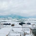 【すっかり冬】空撮してみました♪雪景色