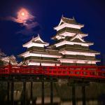 【2019春】夜の松本城に行ってきました