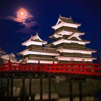 夜,撮影,お城,城,松本城,夜桜,instagram,インスタグラム,写真
