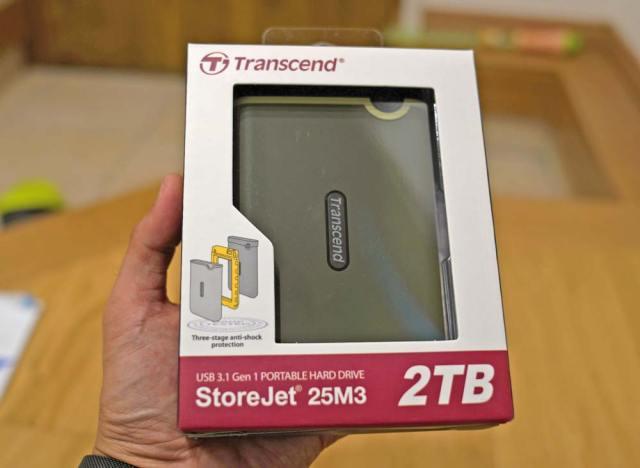 transcend,トランセンド,ポータブルHDD,SSD,ポータブル,2TB,便利,youtube,動画,編集,オーバー
