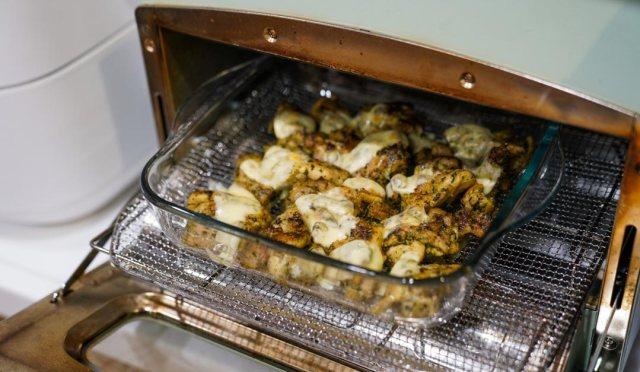 バジルソース,安曇野,ジェノベーゼ,ご馳走,チキン,鶏,鶏肉