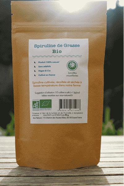 spiruline biologique brindille France