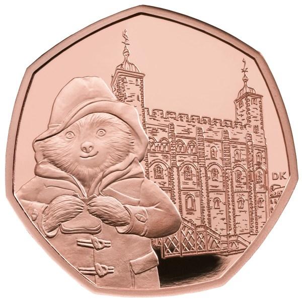 paddington bear 50p coins # 51