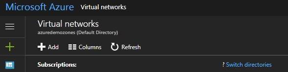 azure virtual network 2