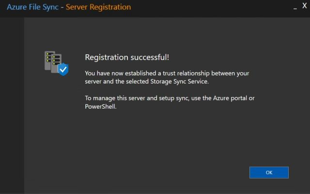 Azure File Sync16
