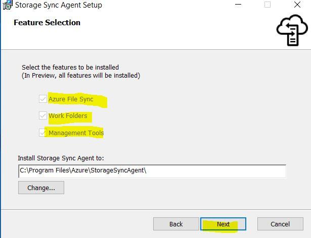file sync setup3