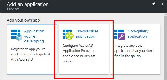 Azure AD Application Proxy – wedoAzure