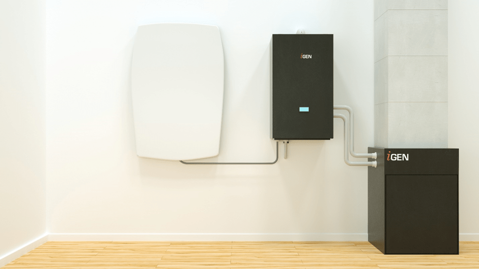 The i2 self-powerd heating system
