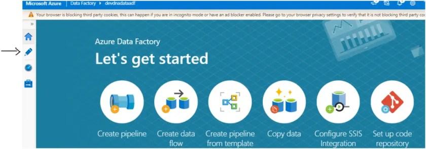 create dynamic dataset in adf