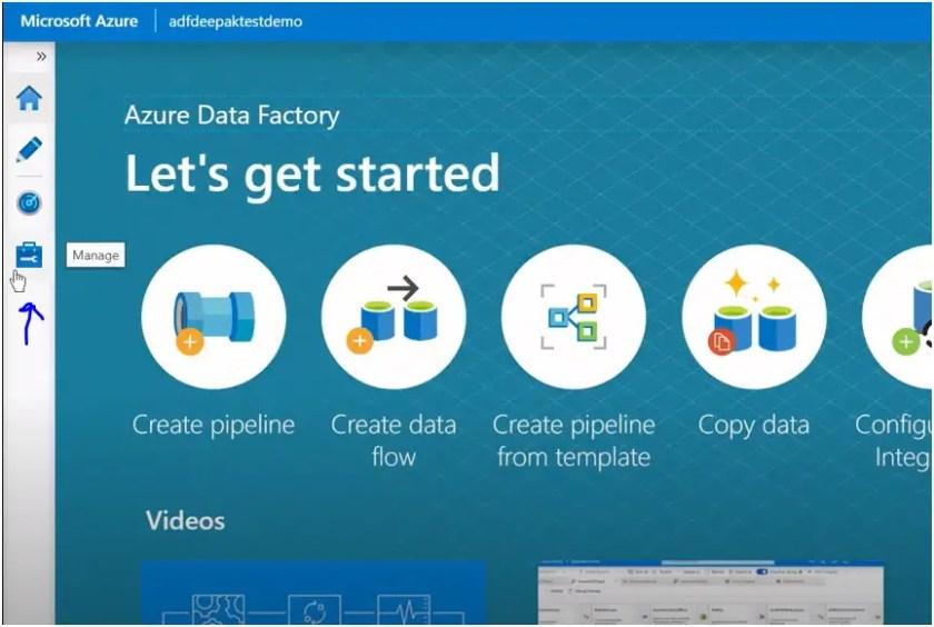 dataset in azure data factory