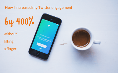 How I increased my Twitter engagement by 400% in 2 weeks