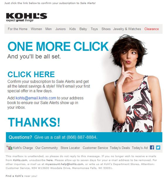 creative double opt in