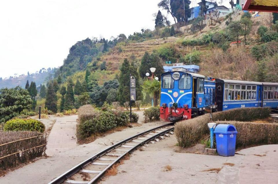 Darjeeling sightseeing - Batasia Loop 4- Toy Train- Darjeeling-The Azure Sky Follows - Tania Mukherjee