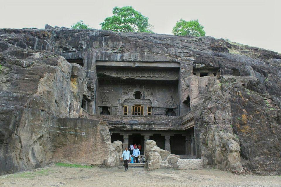 Ellora cave 10- 28-facade