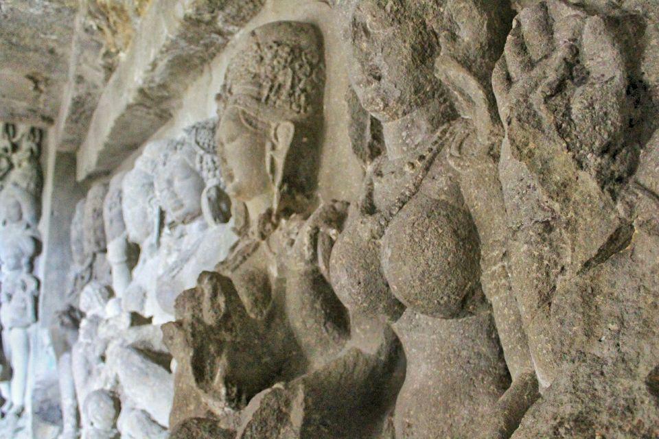 Ellora cave 21- 15 Saptamatrika