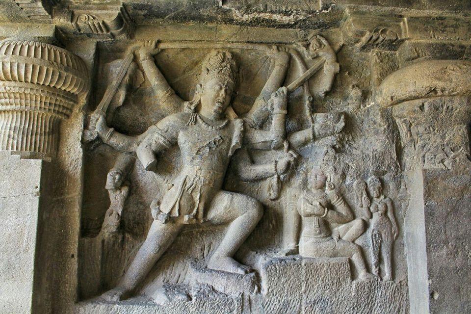 Ellora cave 29- 9 andhakasuravadha