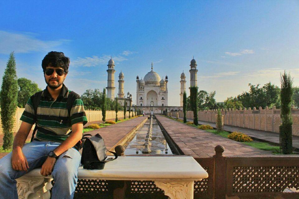 Aurangabad Taj Mahal 11 Bibi ka Maqbara Aurangabad Azure Sky Follows Tania
