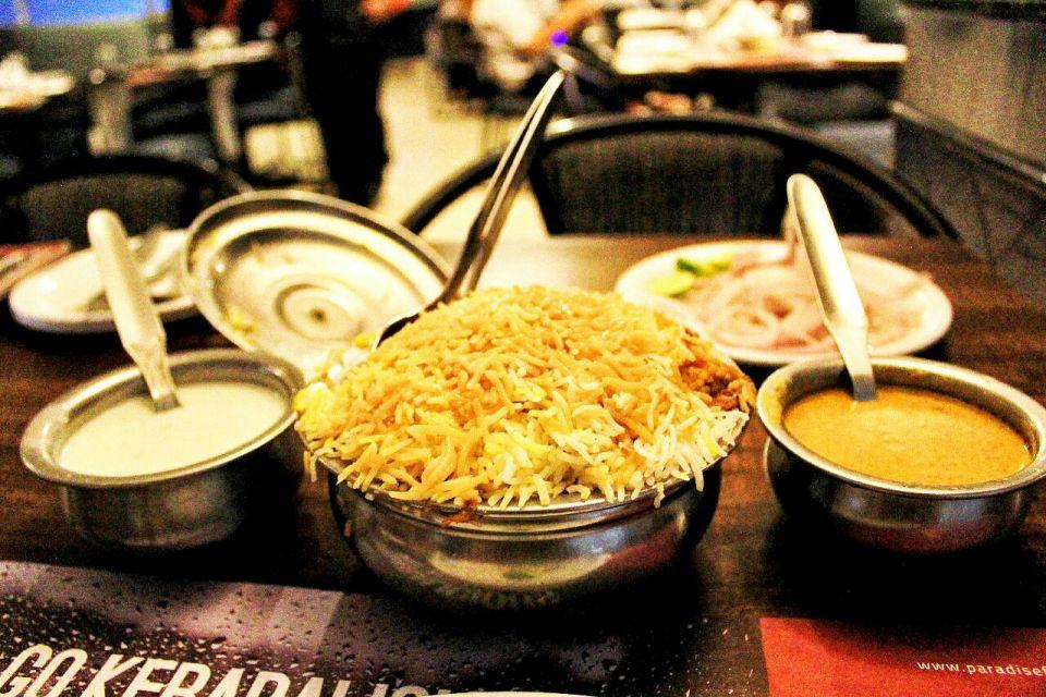 Biryani - Hyderabad Telengana India - Azure Sky Follows - What to eat in Hyderabad - Food