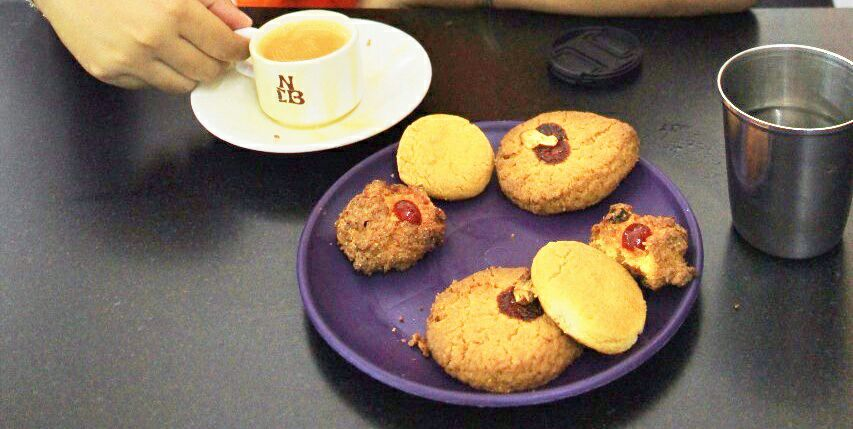 Food in Hyderabad - Irani Chai Biscuits - Hyderabad Telengana India - Azure Sky Follows - What to eat in Hyderabad - Food