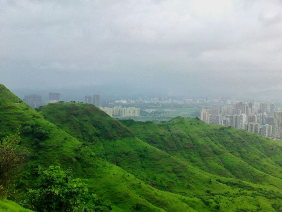 34 Azure Sky Follows - Tania Mukherjee Banerjee -Kharghar hills -Mumbai-Travel Blog