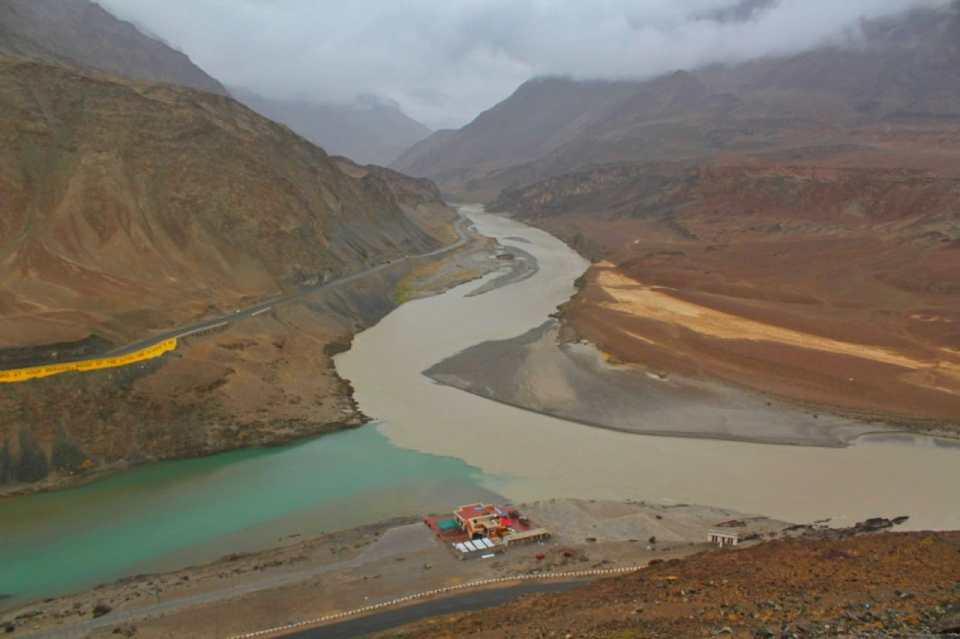 Sangam Sham Valley Ladakh