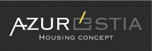 AzurEstia Logo Gris