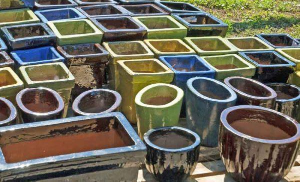 Керамические горшки. Горный огород. Фото из интернета
