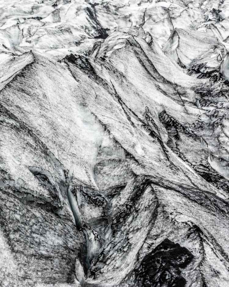 iceland sand pattern texture