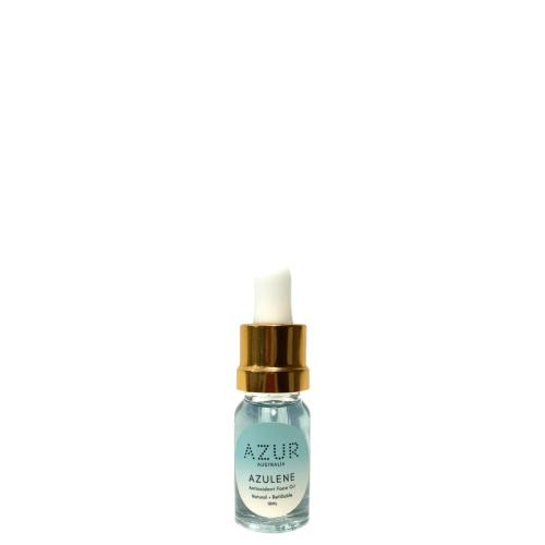 Azulene Antioxidant Facial Oil 10ml Gold Dropper