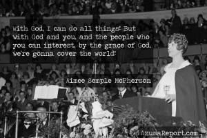 Aimee Semple McPherson on World Missions
