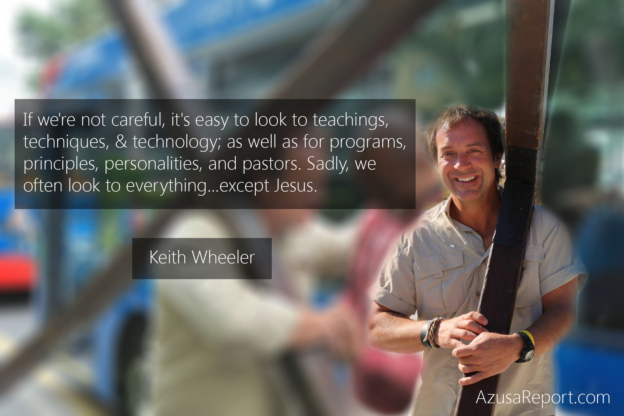 Keith Wheeler on the Cross