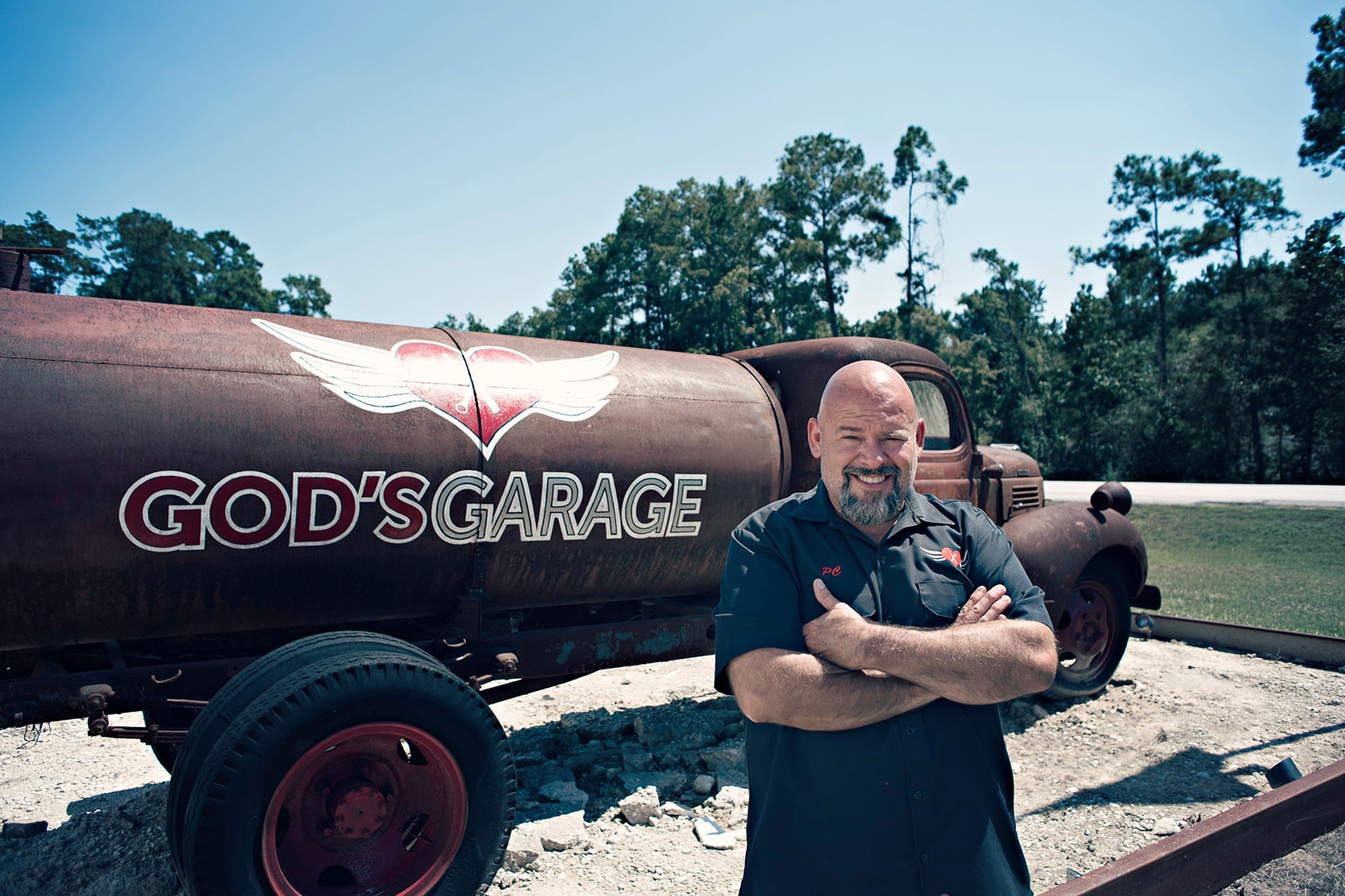 God's Garage : Helping widows practically in Texas
